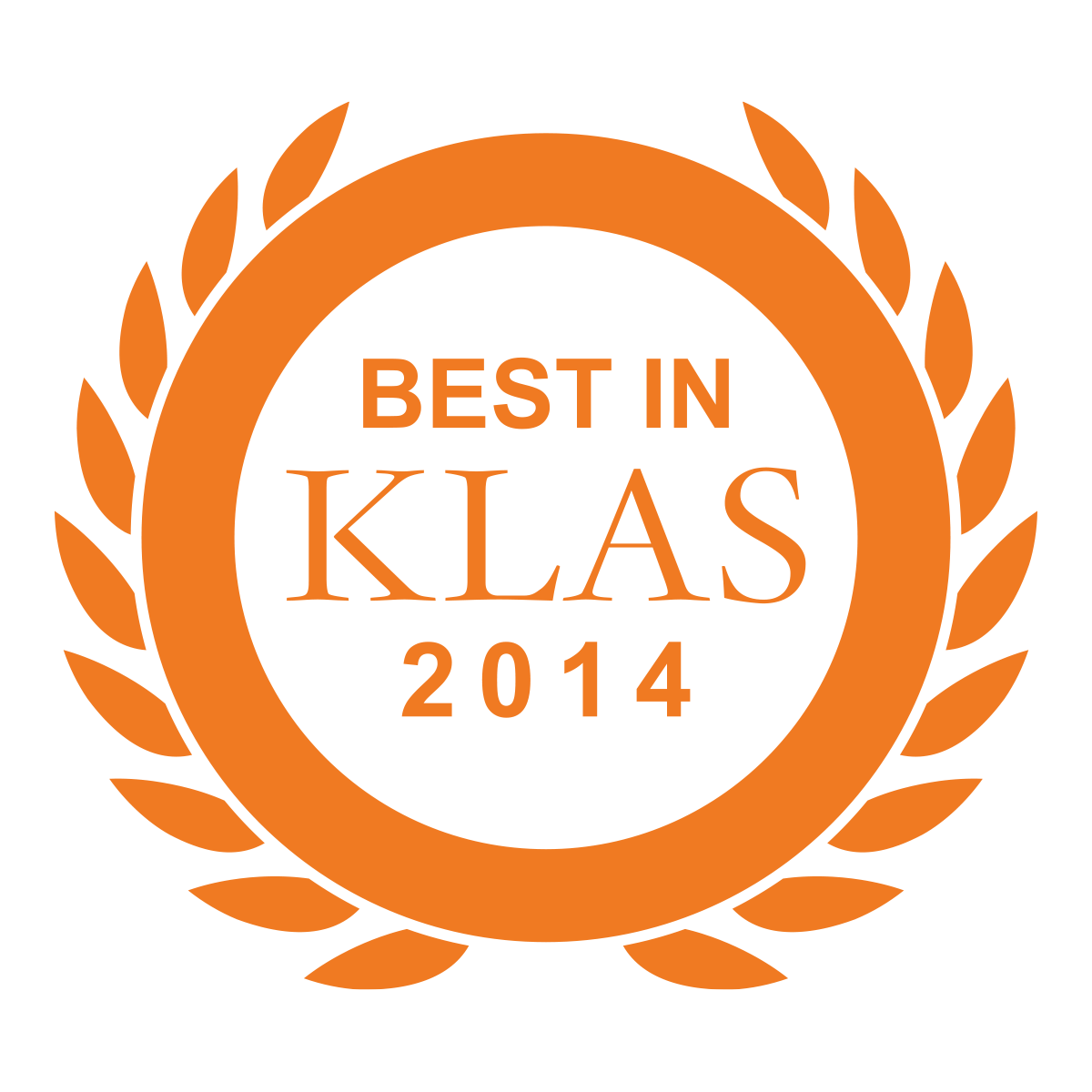 2014 Best in KLAS