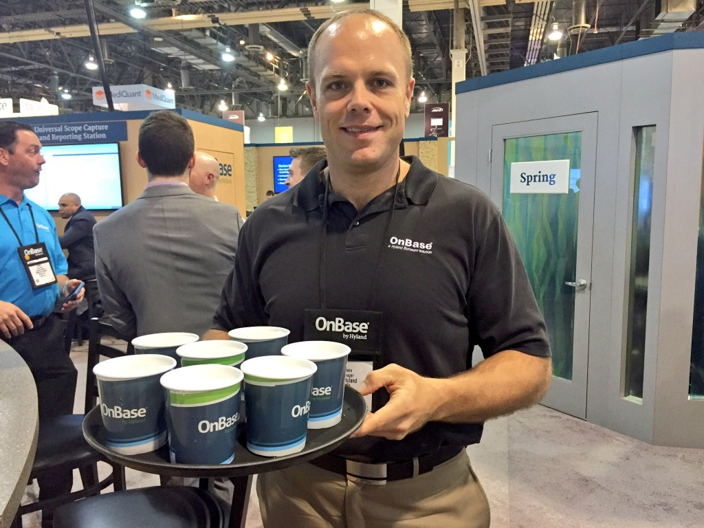 OnBase HH at HIMSS