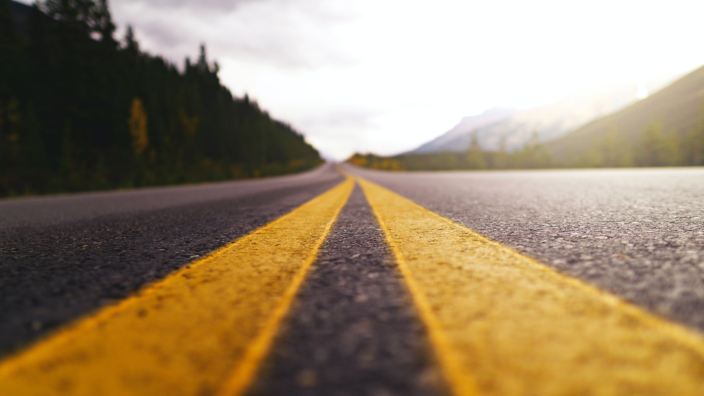 An open road is ready for speed and agility, which is what a low-code platform provides organizations.